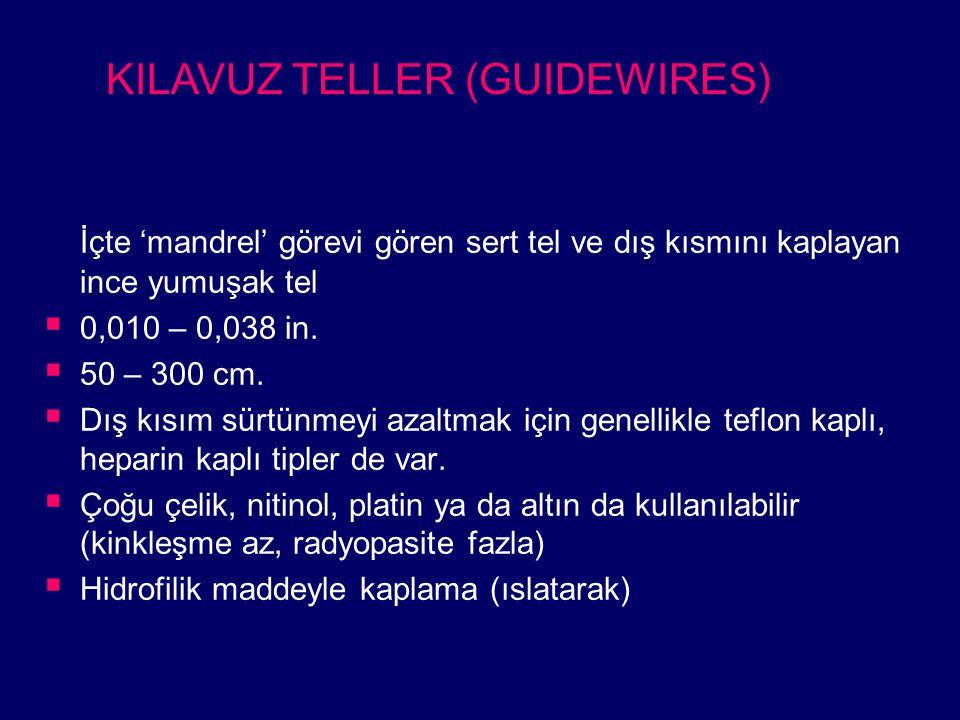 KILAVUZ TELLER (GUIDEWIRES)