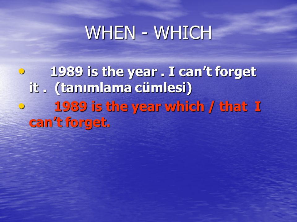 WHEN - WHICH 1989 is the year .