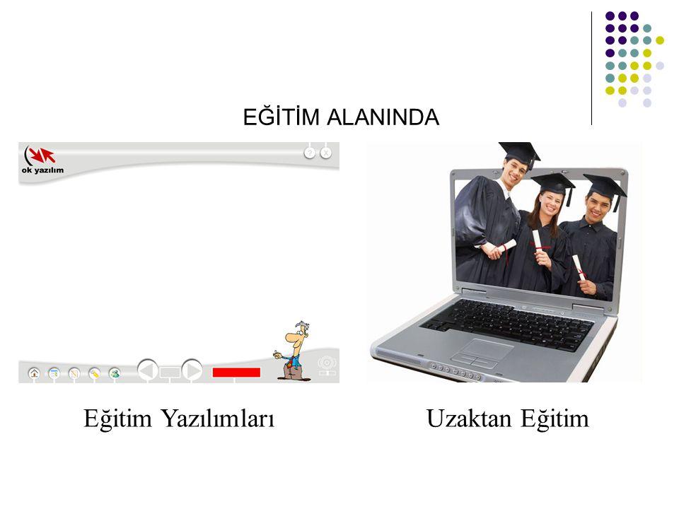 EĞİTİM ALANINDA Eğitim Yazılımları Uzaktan Eğitim