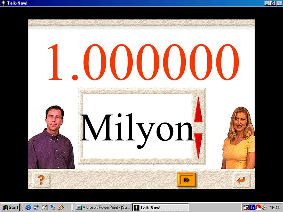 Milyon 1.000000