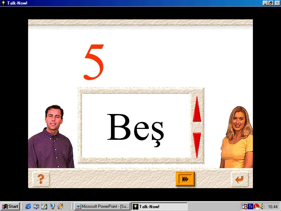 Beş 5