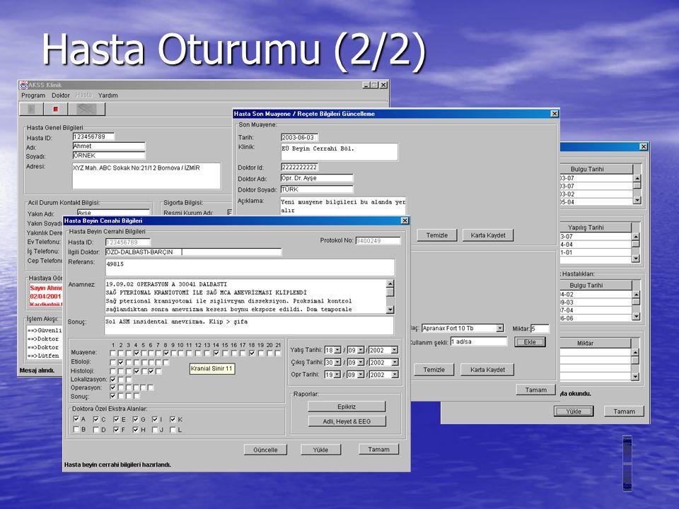 Hasta Oturumu (2/2)