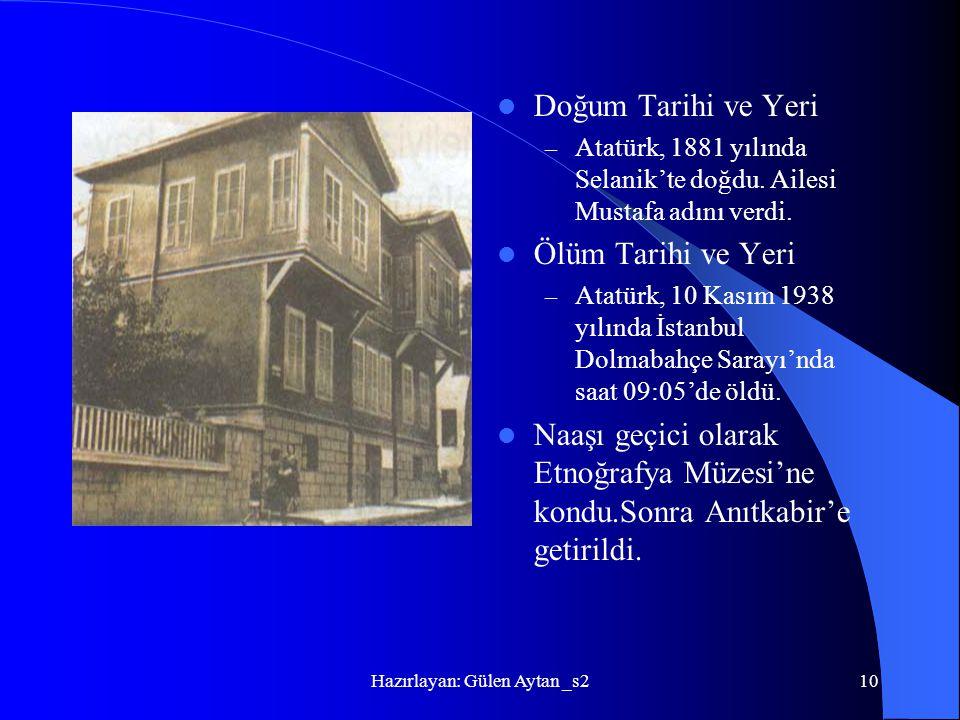 Hazırlayan: Gülen Aytan _s2