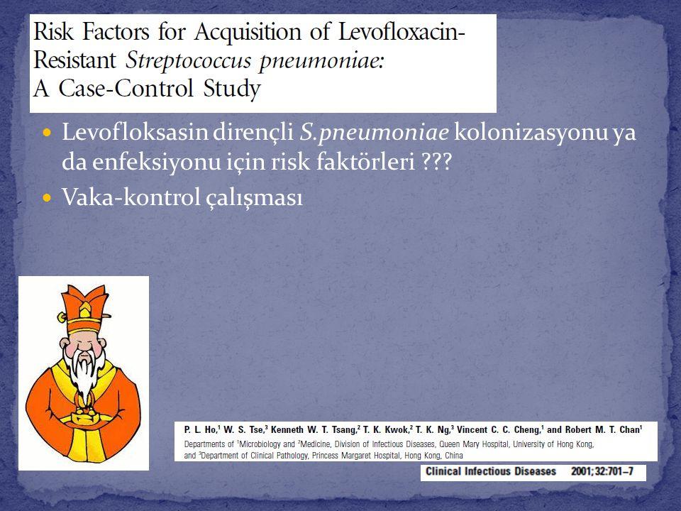 Levofloksasin dirençli S