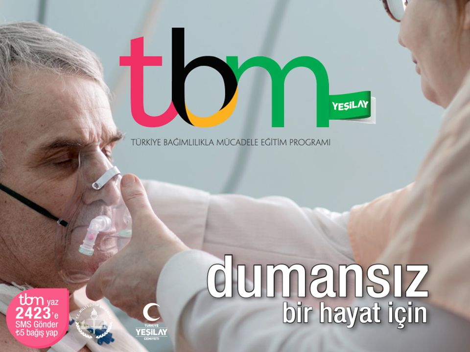 Bu sunuda TBM için hazırlanmış olan «Dumansız Bir Hayat İçin» adlı (Metin: Itır Tarı Cömert, 2014, İstanbul: Yeşilay Yayını) broşürden yararlanılmıştır.