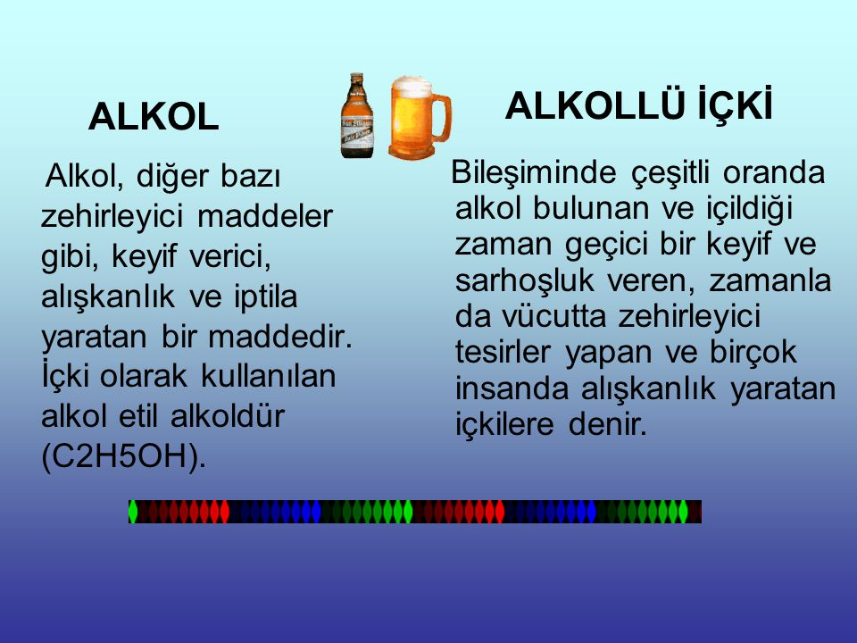 ALKOLLÜ İÇKİ ALKOL.