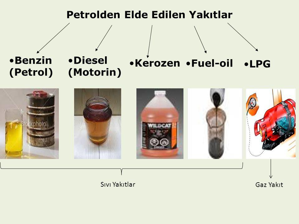 Petrolden Elde Edilen Yakıtlar