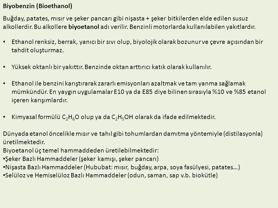 Biyobenzin (Bioethanol)