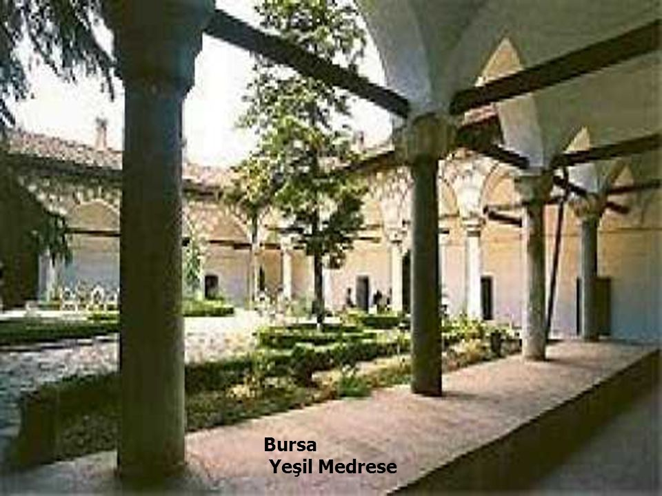 Bursa Yeşil Medrese