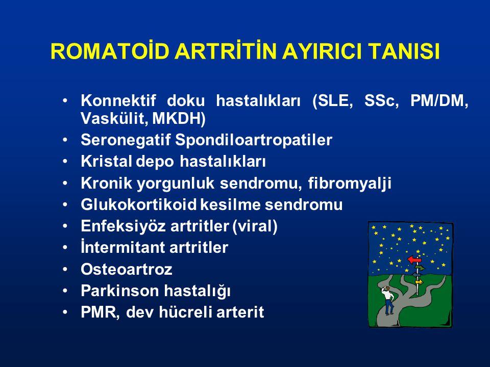 ROMATOİD ARTRİTİN AYIRICI TANISI