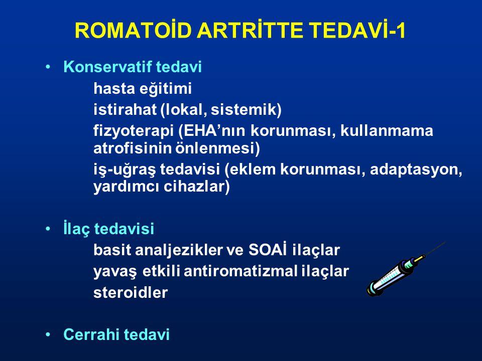 ROMATOİD ARTRİTTE TEDAVİ-1