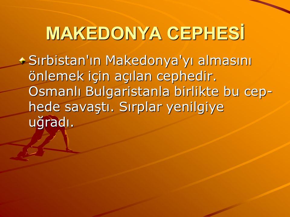 MAKEDONYA CEPHESİ