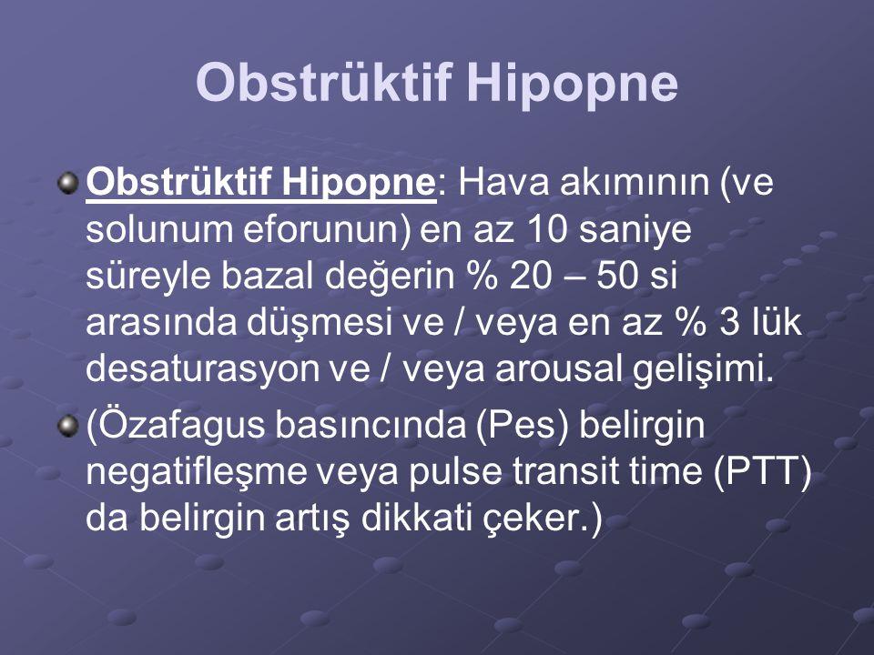 Obstrüktif Hipopne