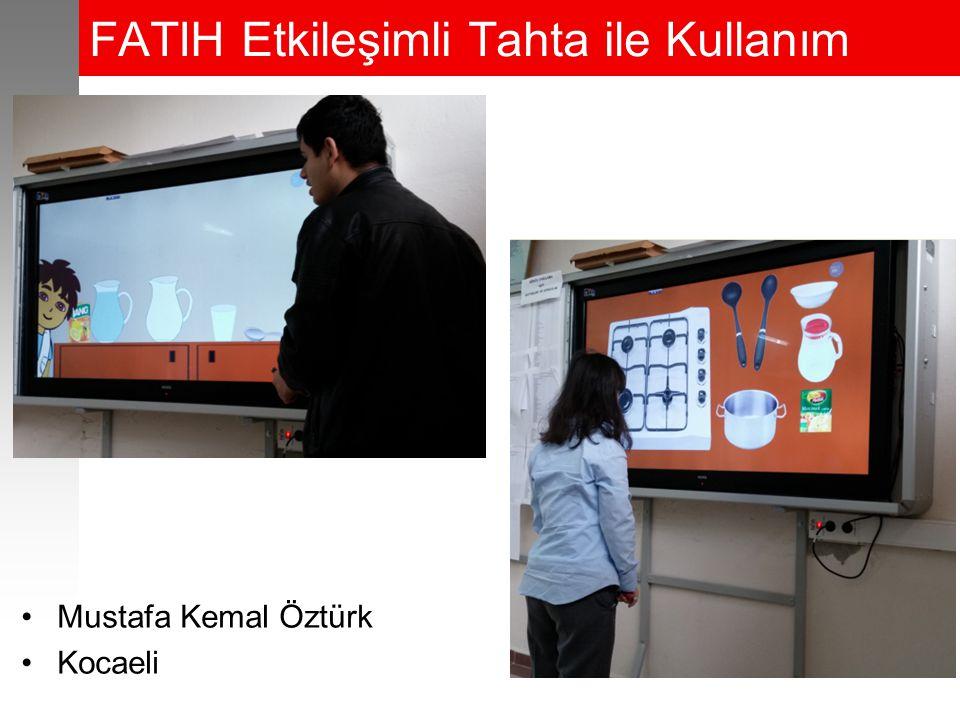 FATIH Etkileşimli Tahta ile Kullanım