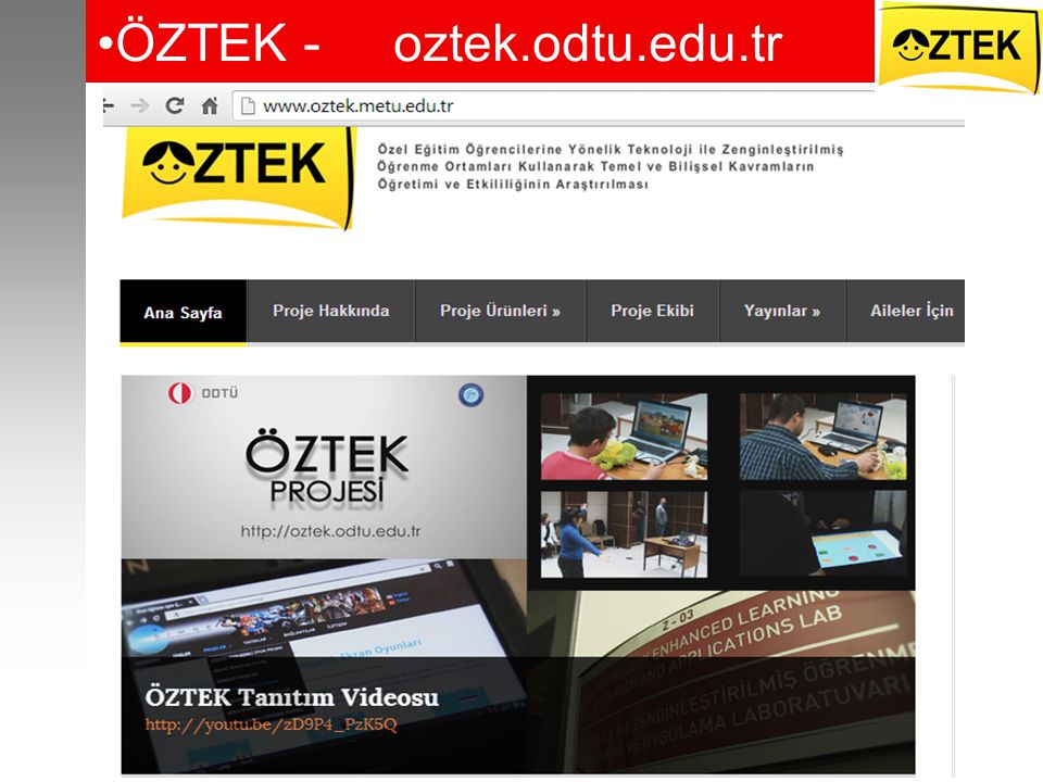 ÖZTEK - oztek.odtu.edu.tr