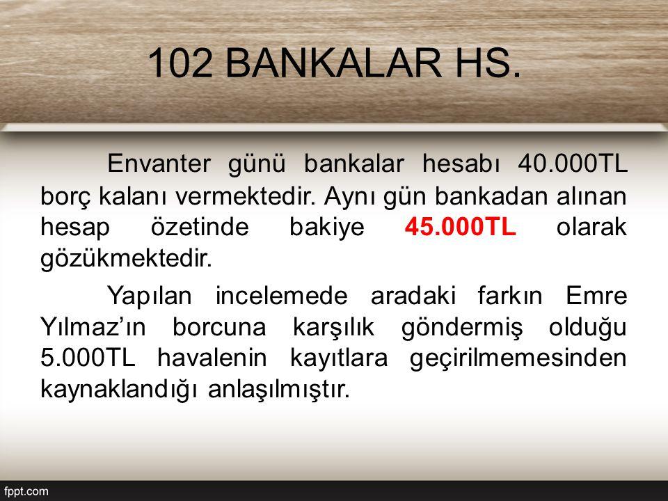 102 BANKALAR HS.