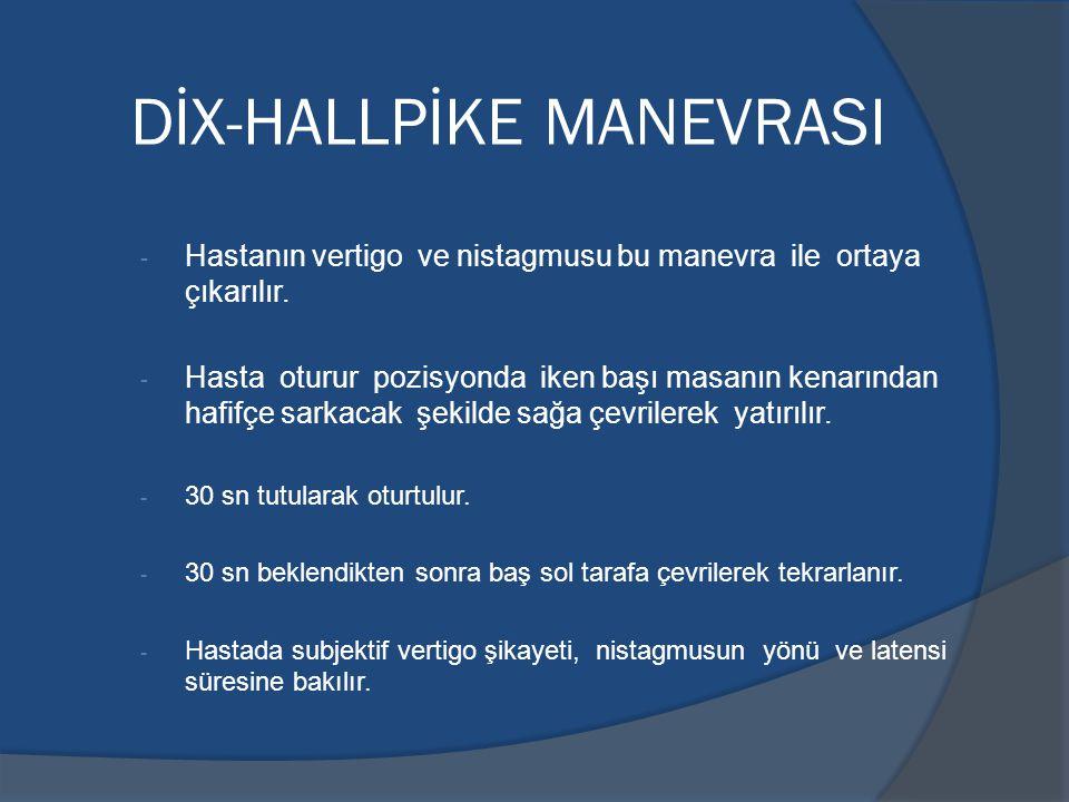 DİX-HALLPİKE MANEVRASI