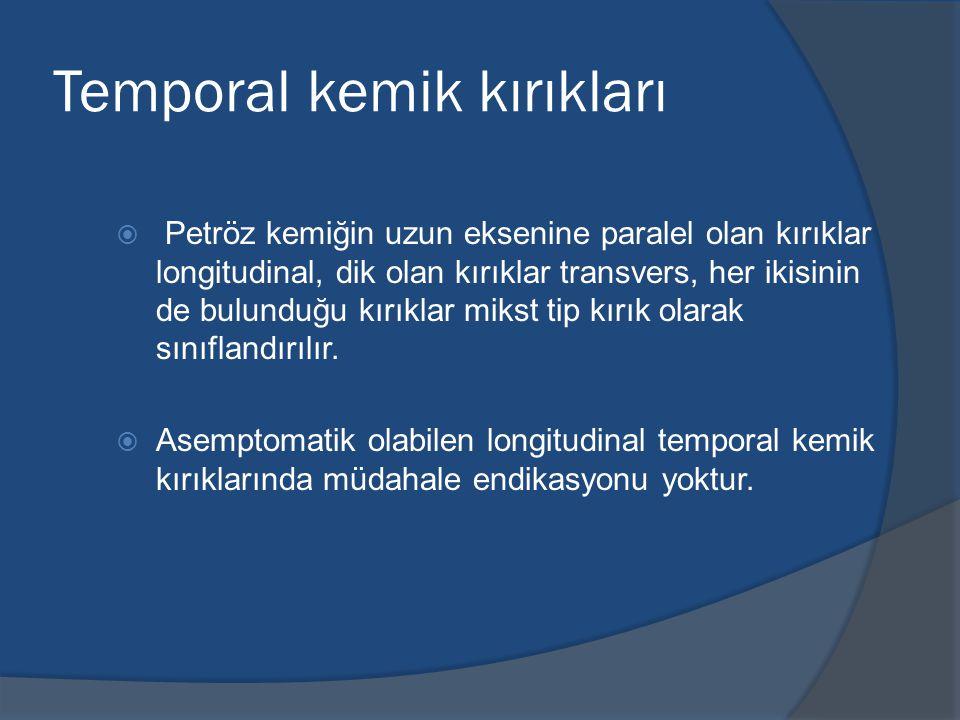 Temporal kemik kırıkları