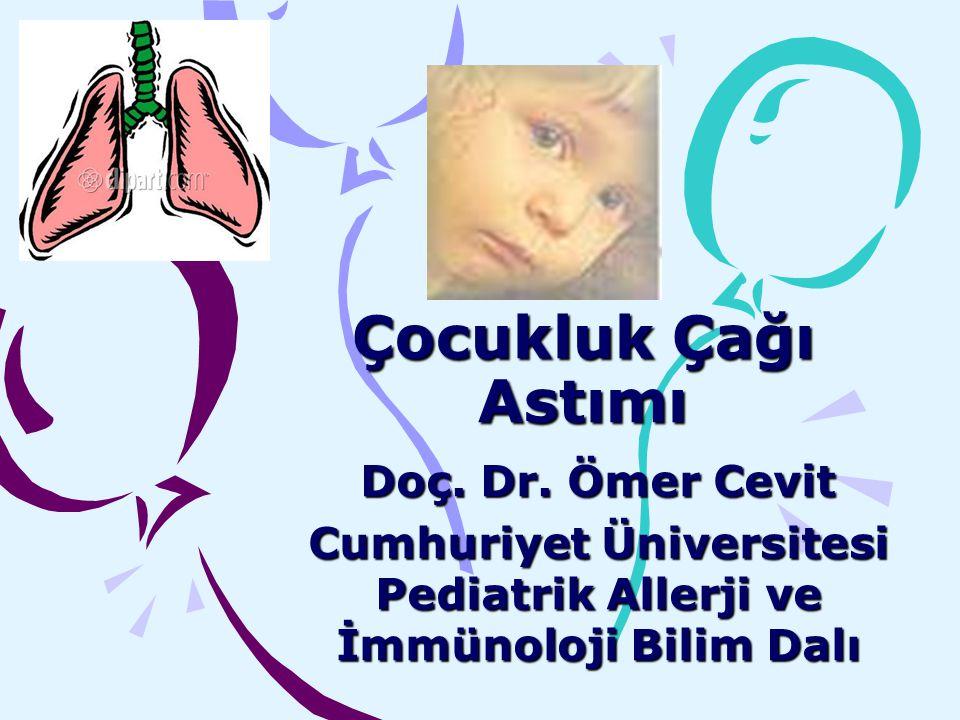 Cumhuriyet Üniversitesi Pediatrik Allerji ve İmmünoloji Bilim Dalı