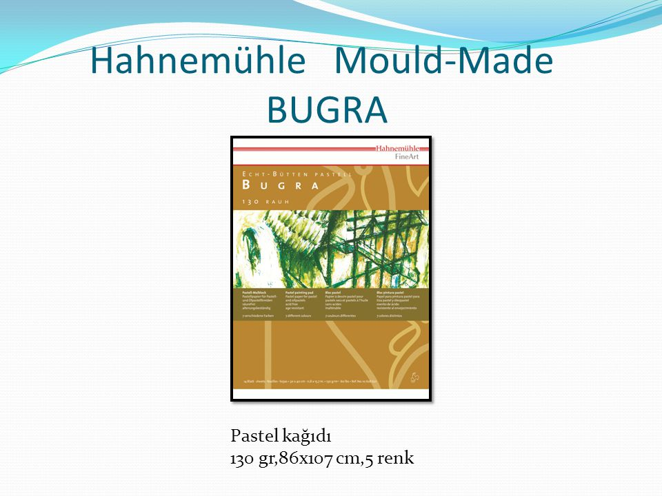 Hahnemühle Mould-Made BUGRA