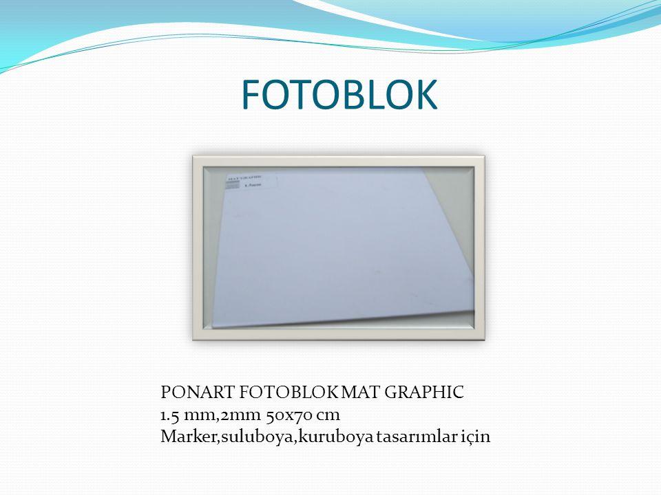 FOTOBLOK PONART FOTOBLOK MAT GRAPHIC 1.5 mm,2mm 50x70 cm