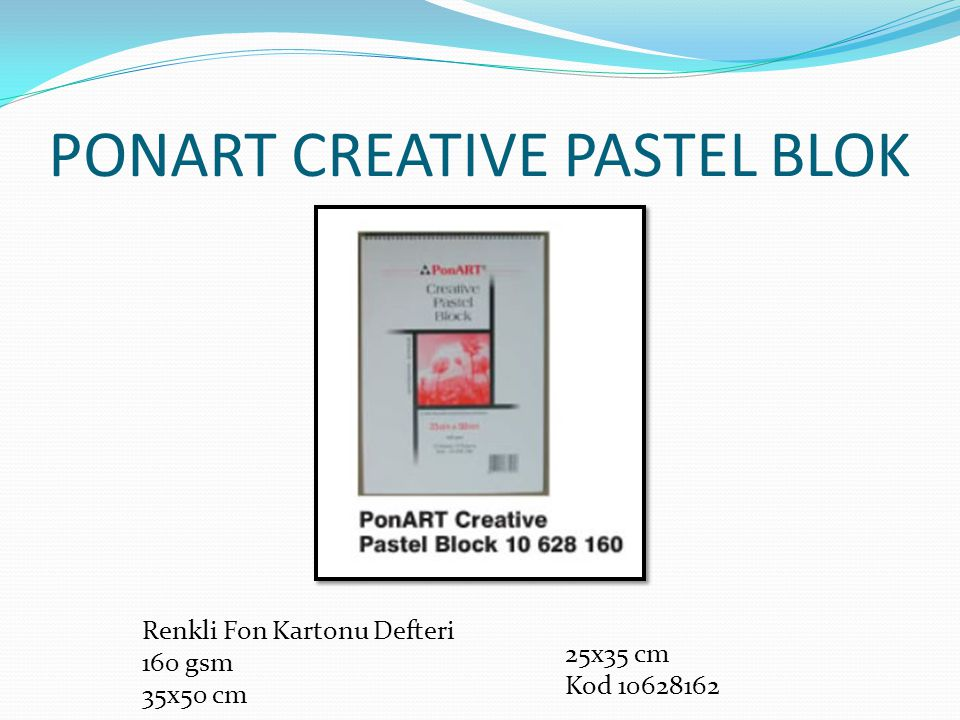 PONART CREATIVE PASTEL BLOK