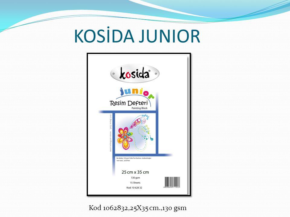 KOSİDA JUNIOR Kod 1062832,25X35 cm.,130 gsm