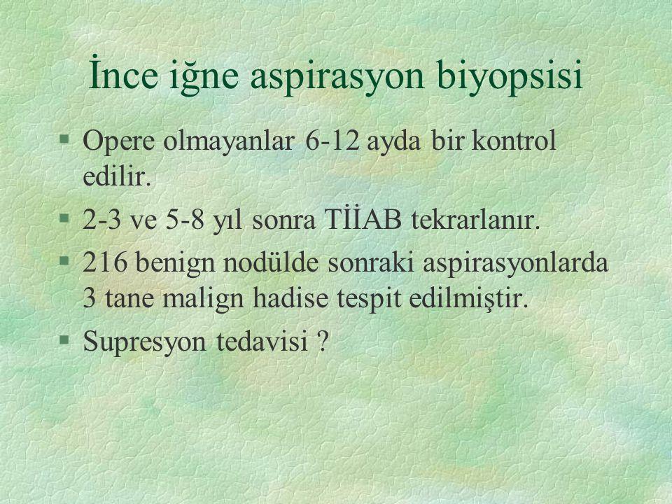 İnce iğne aspirasyon biyopsisi