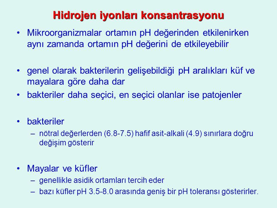 Hidrojen iyonları konsantrasyonu