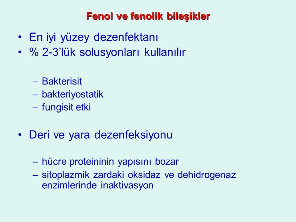 Fenol ve fenolik bileşikler