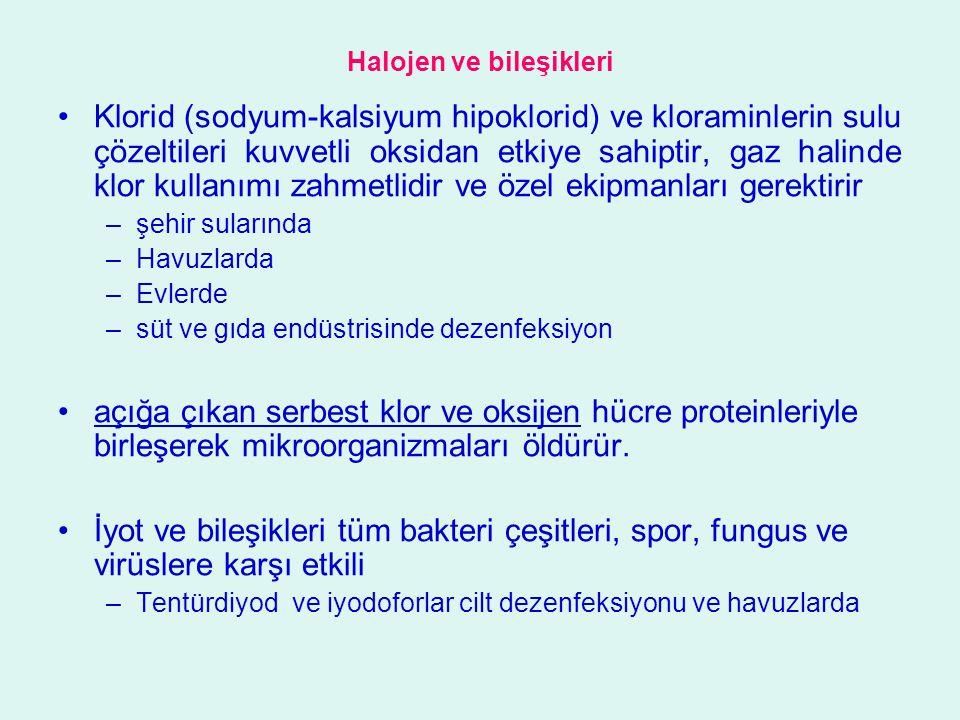 Halojen ve bileşikleri
