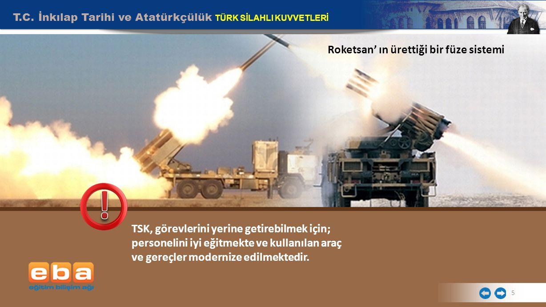 Roketsan' ın ürettiği bir füze sistemi