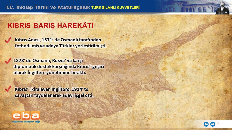 T.C. İnkılap Tarihi ve Atatürkçülük TÜRK SİLAHLI KUVVETLERİ