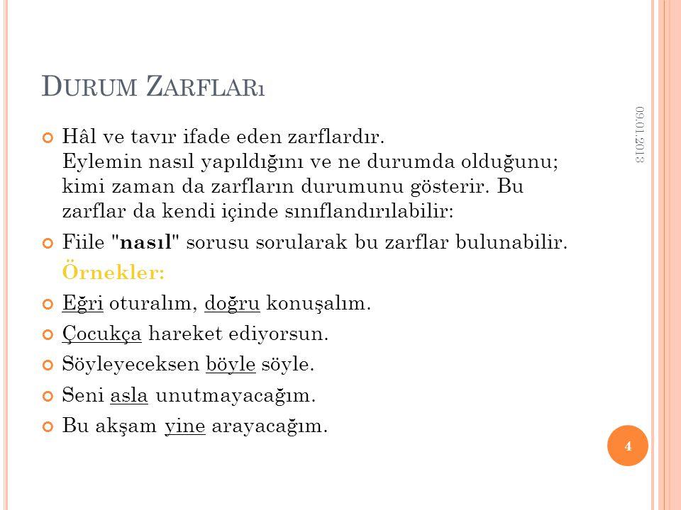 Durum Zarfları 09.01.2013.