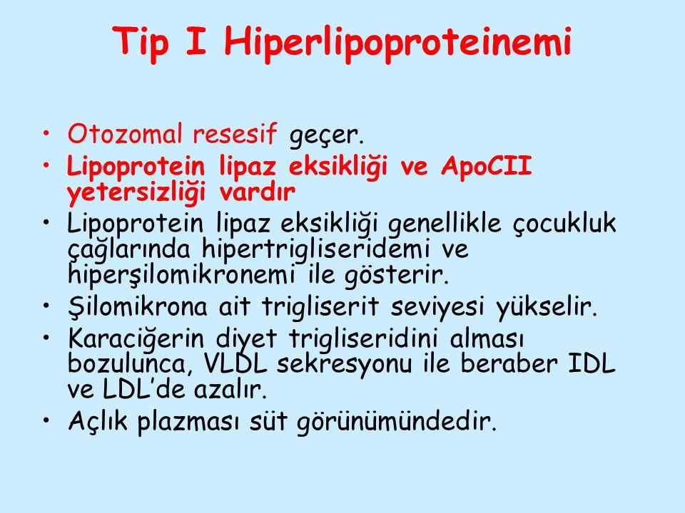 Tip I Hiperlipoproteinemi