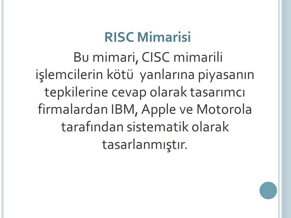 RISC Mimarisi
