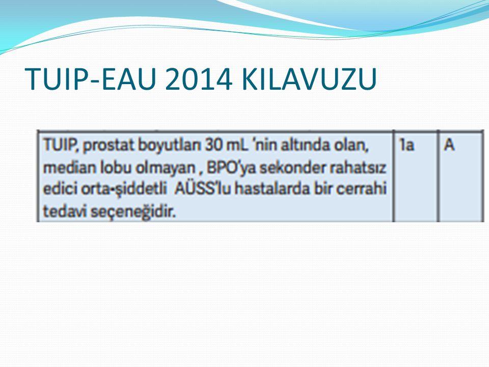 TUIP-EAU 2014 KILAVUZU