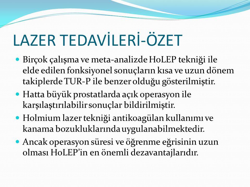 LAZER TEDAVİLERİ-ÖZET