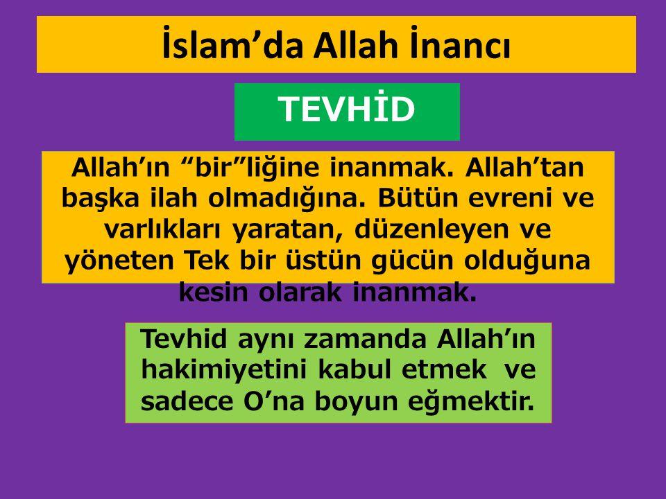 İslam'da Allah İnancı TEVHİD