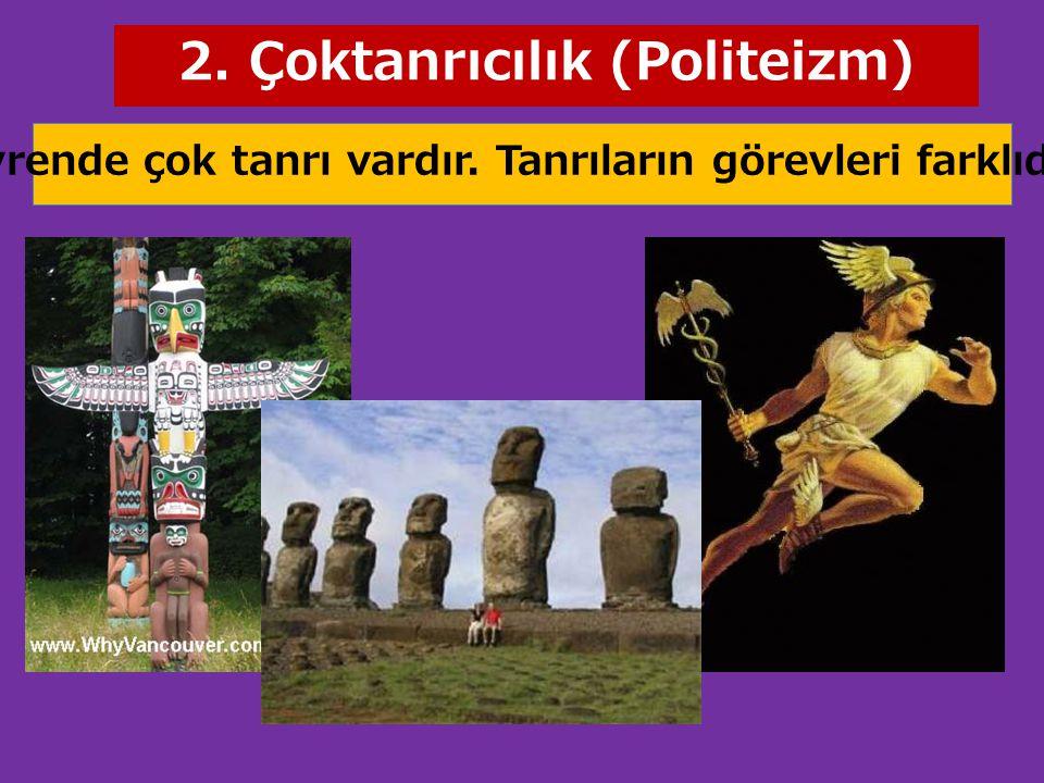 2. Çoktanrıcılık (Politeizm)
