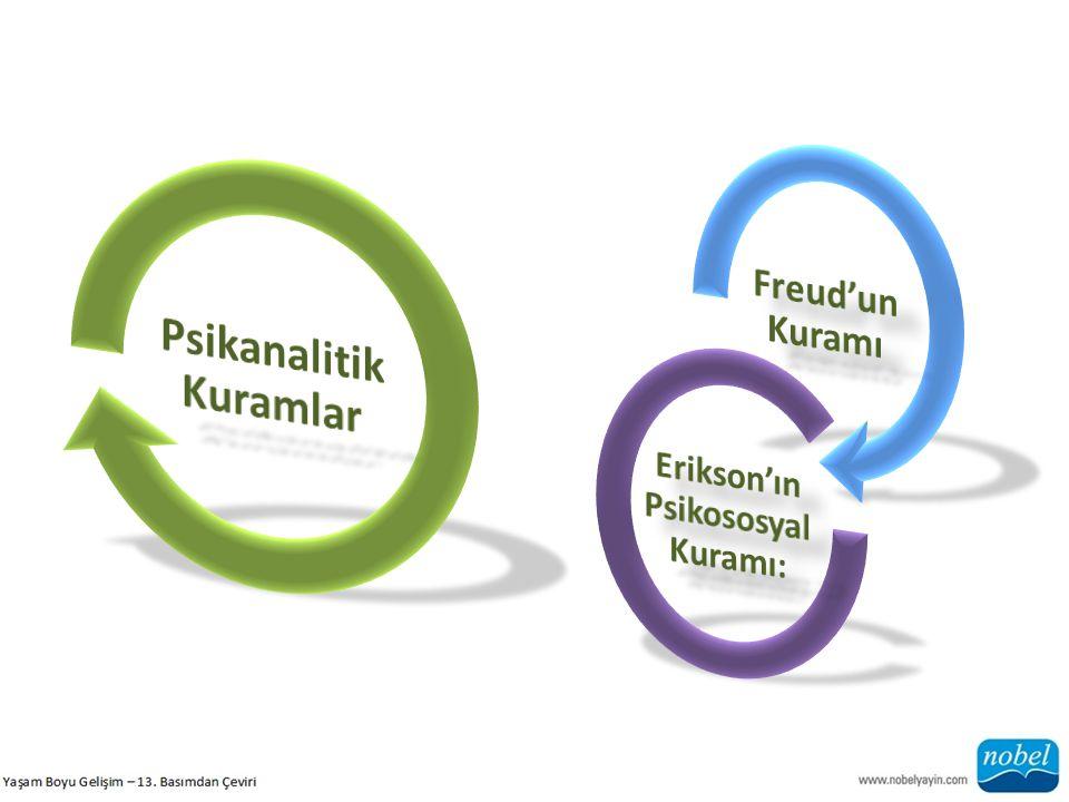 Psikanalitik Kuramlar Erikson'ın Psikososyal Kuramı: