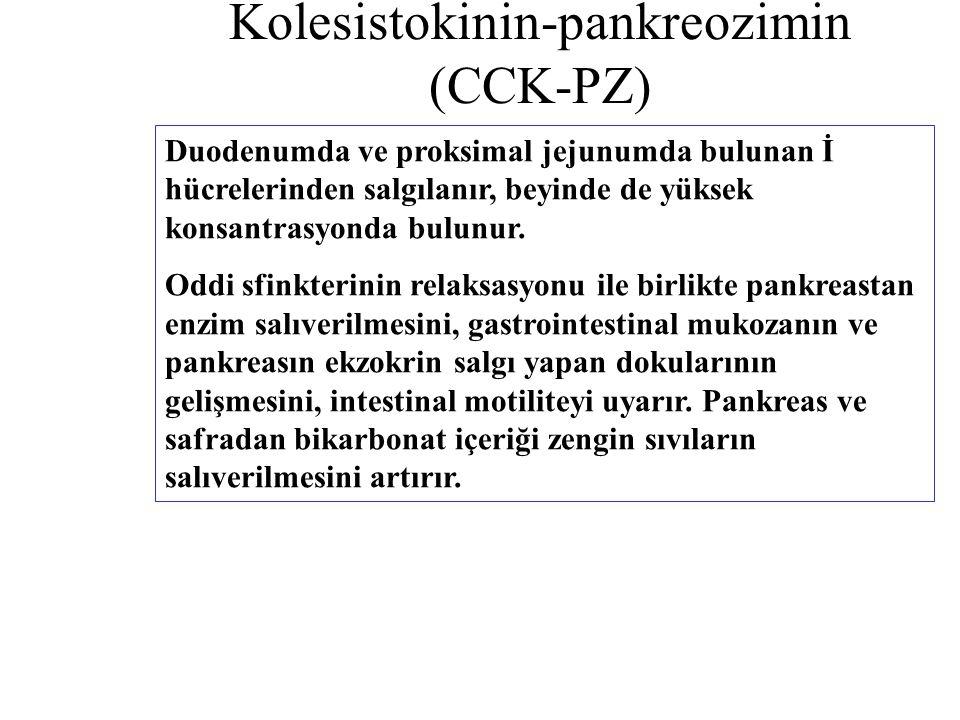 Kolesistokinin-pankreozimin (CCK-PZ)