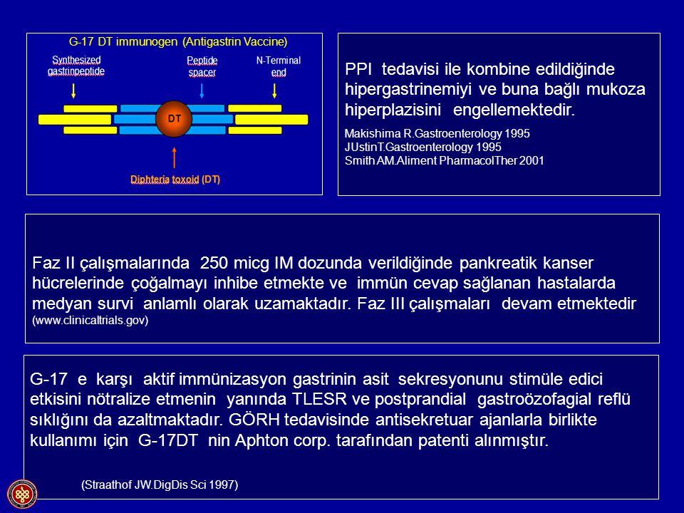 G-17 DT immunogen (Antigastrin Vaccine)