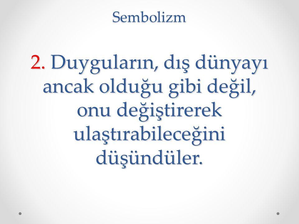 Sembolizm 2.