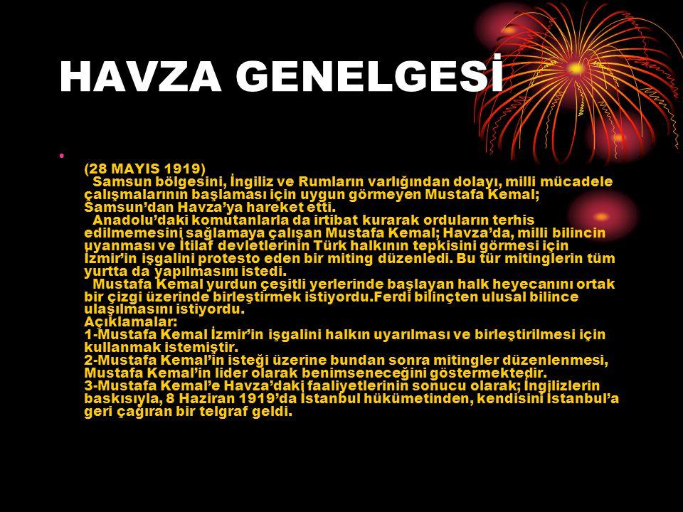 HAVZA GENELGESİ