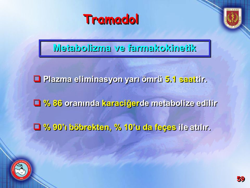 Metabolizma ve farmakokinetik