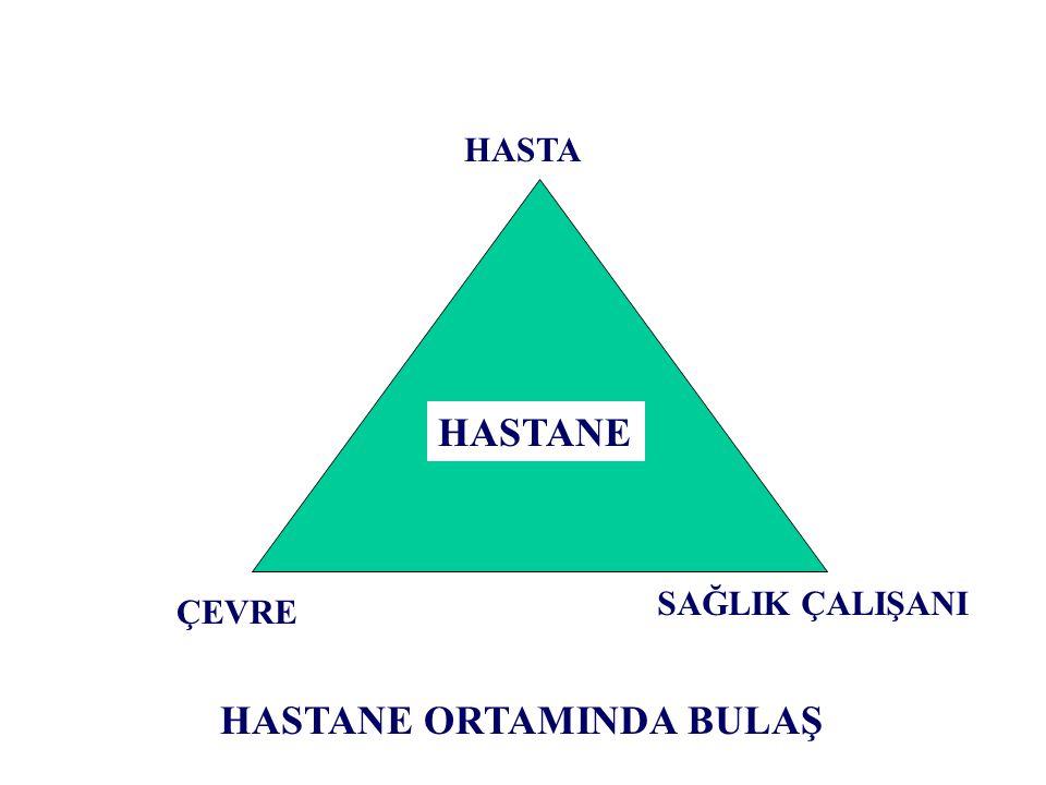 HASTANE ORTAMINDA BULAŞ