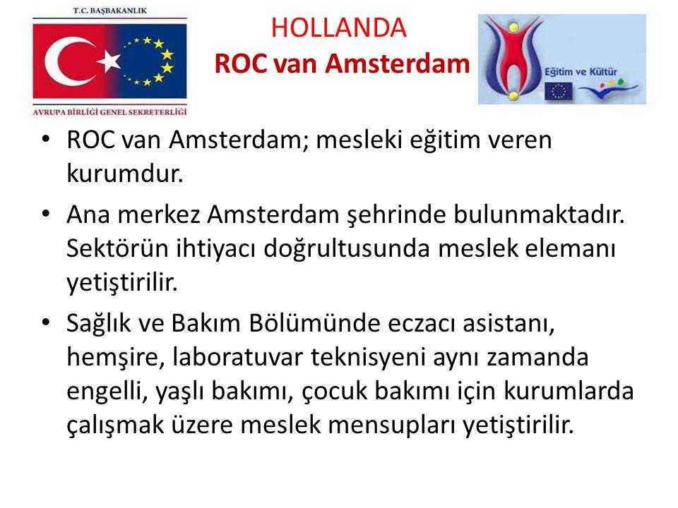 HOLLANDA ROC van Amsterdam