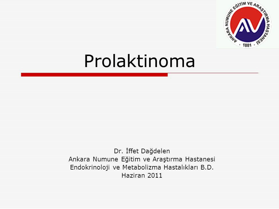 Prolaktinoma Dr. İffet Dağdelen
