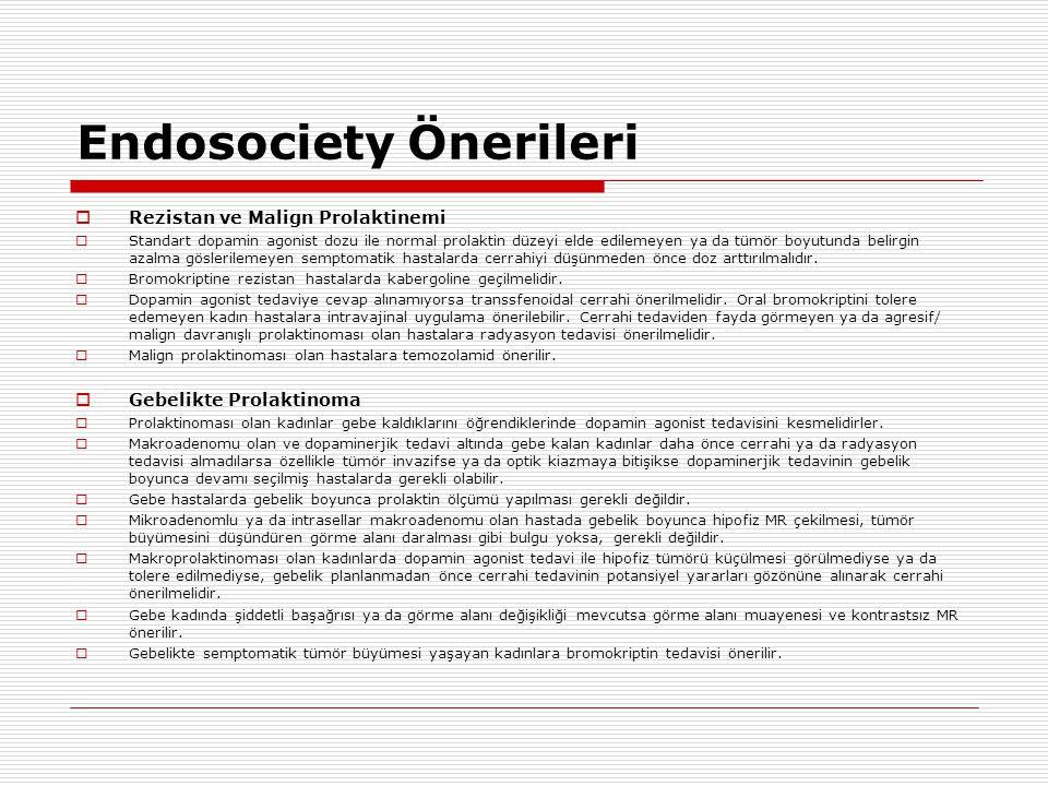Endosociety Önerileri